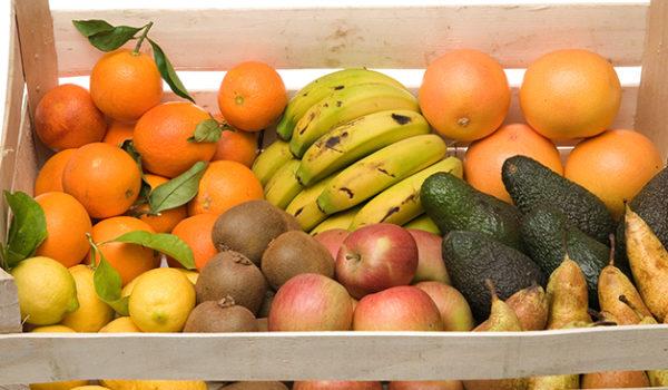 Frutas de temporada ecológicas